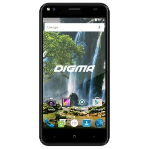 Смартфон Digma VOX E502 4G 16Gb Gray