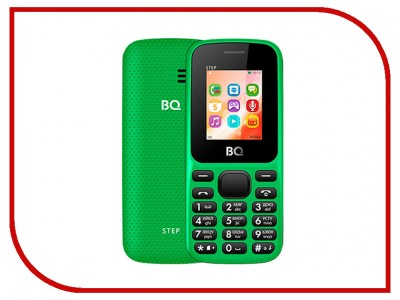Сотовый телефон BQ Mobile BQ 1805 Step (BQ-1805 Step Green)