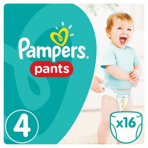Подгузники Pampers Pampers Active Boy Maxi (4015400726999)
