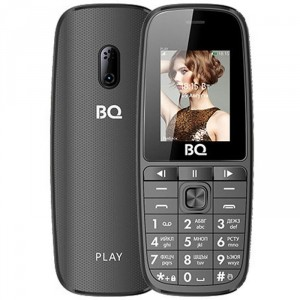 Сотовый телефон BQ Mobile BQ-1841 Play (BQ-1841 Play Grey)