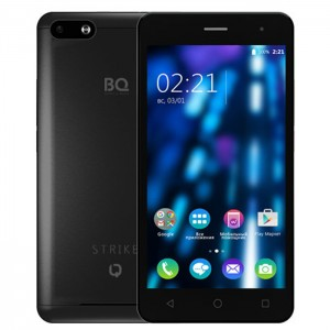 Смартфон BQ Mobile BQS-5020 Strike Black