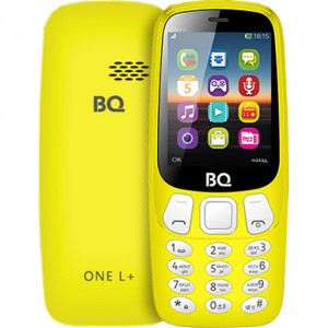 Сотовый телефон BQ Mobile BQ-2442 One L+ (BQ-2442 One L+ Yellow)