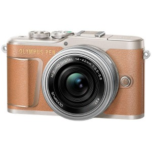 Фотоаппарат системный Olympus E-PL9 brown + 14-42mm EZ silver ()