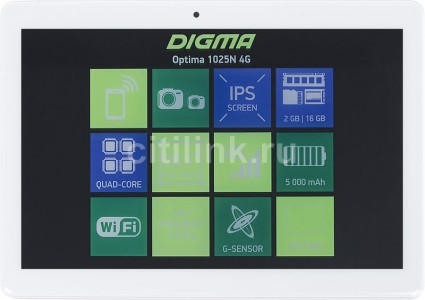 Планшет Digma Optima 1025N 4G (TS1190ML)